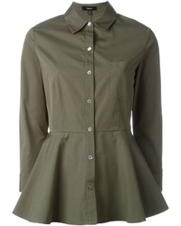 Theory Peplum Shirt