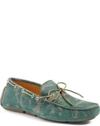 Olive Driving Shoes