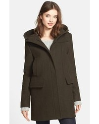 Wool blend duffle coat medium 105734