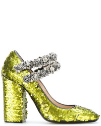No.21 No21 Sequins Embellished Pumps