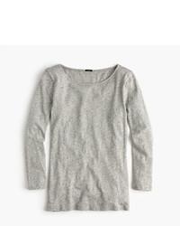 J.Crew Long Sleeve Embellished Painter T Shirt