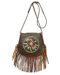 Grappa fringed saddle bag medium 962011