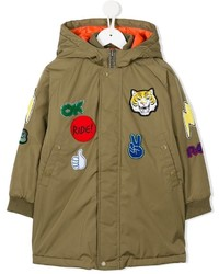 Stella McCartney Kids Stan Badge Embroidered Jacket