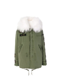 As65 Fur Lined Embroidered Parka