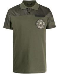 Balmain Logo Patch Polo Shirt