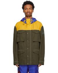 Moncler Genius 1 Moncler Jw Anderson Khaki Colorblocked Jacket