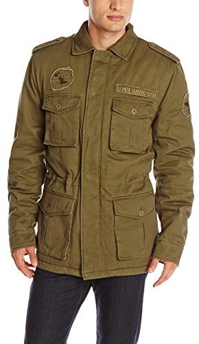 alpha industries m 65 altimeter field coat with faux