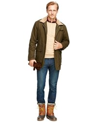 Brooks Brothers And Beretta Olive Hunting Jacket