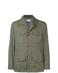 Brunello Cucinelli Buttoned Field Jacket