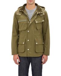 Shipley & Halmos Coated Field Jacket