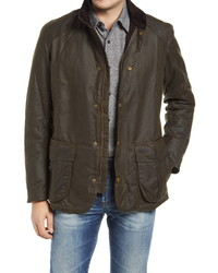Barbour Gilpin Water Resistant Waxed Cotton Jacket