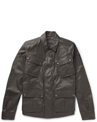 Belstaff Levison Waxed Cotton Blend Field Jacket