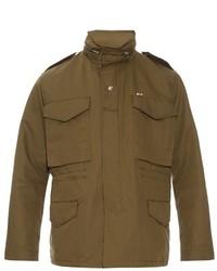 MAISON KITSUNÉ Lightweight Cotton Field Jacket