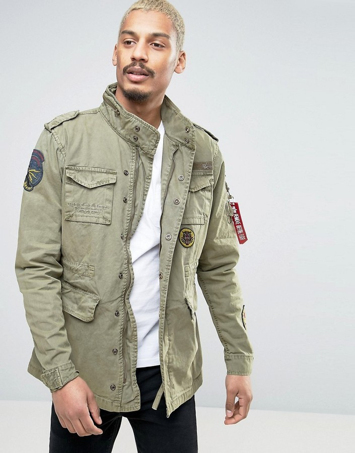 Alpha industries feldjacke m 65 original parka