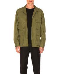 Maiden Noir Field Jacket In Green
