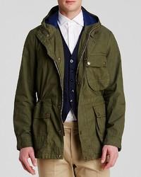 Man 1924 Hooded Field Jacket