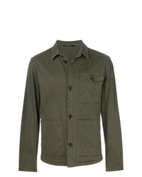 Z Zegna Multi Pocket Button Jacket