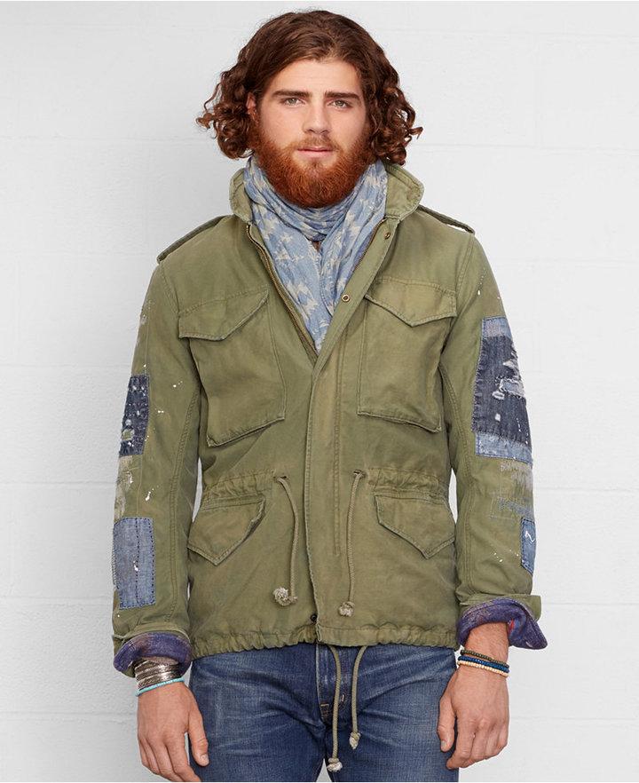 ... Denim & Supply Ralph Lauren Repaired Field Jacket ... - Denim & Supply Ralph Lauren Repaired Field Jacket Where To Buy