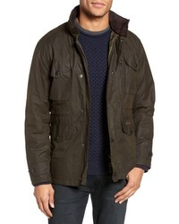 Barbour Sapper Regular Fit Waterproof Waxed Cotton Jacket