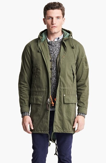 Jack Spade Bolton Fishtail Parka | Where to buy & how to wear