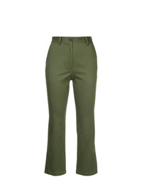 H Beauty&Youth Bootcut Cropped Trousers