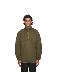 Nanamica Green N Pullover Sweater