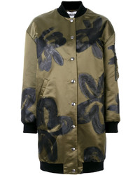 Moschino Floral Painted Coat