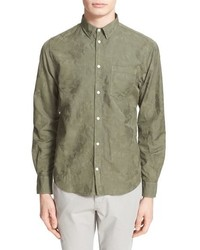 Norse Projects Floral Jacquard Cotton Sport Shirt