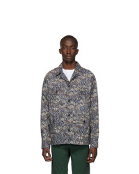 Norse Projects Green Lawn Print Mads Shirt