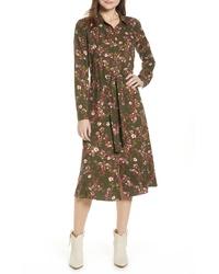 BP. Floral Midi Dress