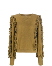 Ulla Johnson Fringed Knit Sweater