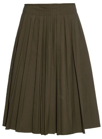S Max Mara Albany Pleated A Line Skirt | Where to buy & how to wear