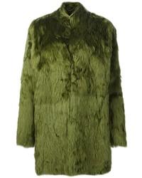 Olive Fur Coat