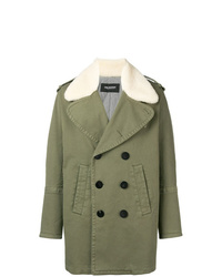 Neil Barrett Military Shearling Coat