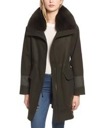 Trina Turk Whitney Genuine Fox Coat