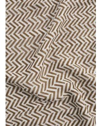 Mango Outlet Geometric Print Scarf
