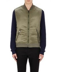 Marc By Marc Jacobs Chain Embellished Puffer Vest Green Size Na