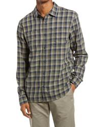 Vans Alameda Ii Slim Fit Check Flannel Button Up Shirt