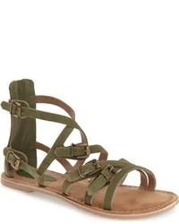 store buy cheap authentic Olive Gladiator Sandals for Women   Women's Fashion   Lookastic.com