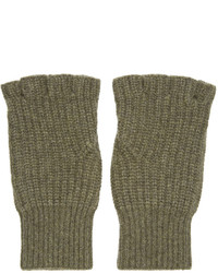 rag & bone Green Cashmere Kaden Gloves