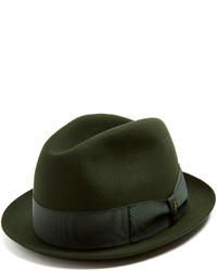 Borsalino Alessandria Narrow Brim Felt Hat