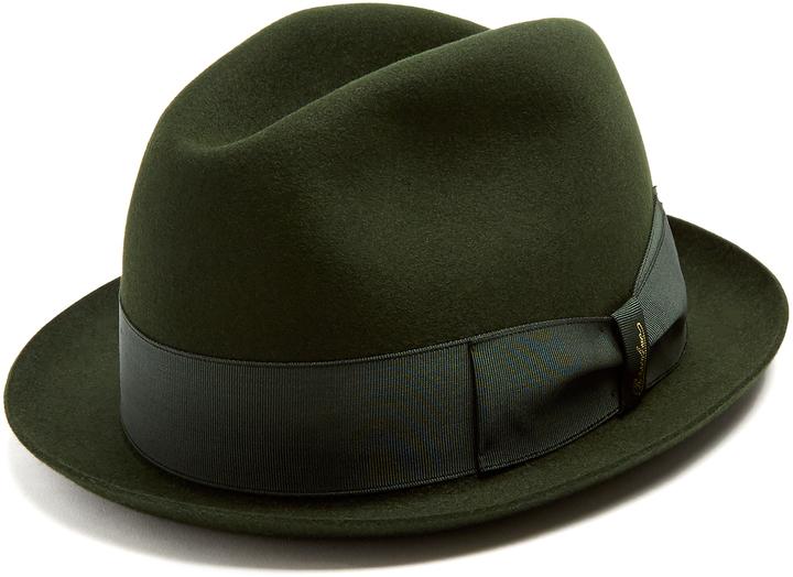 Borsalino Alessandria Narrow Brim Felt Hat ac77d1ebb3b