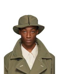 Issey Miyake Men Green Span Hat