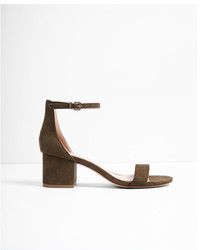 Express Low Block Heeled Sandals