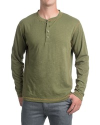 Pacific Trail Henley Shirt Long Sleeve