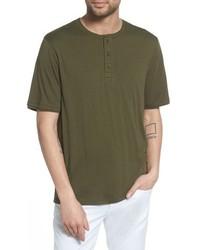 Vince Layered Henley T Shirt