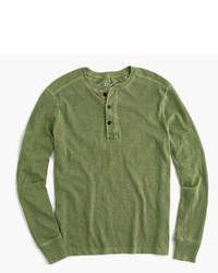 J.Crew Slub Cotton Gart Dyed Henley