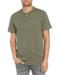 The Rail Solid Henley T Shirt
