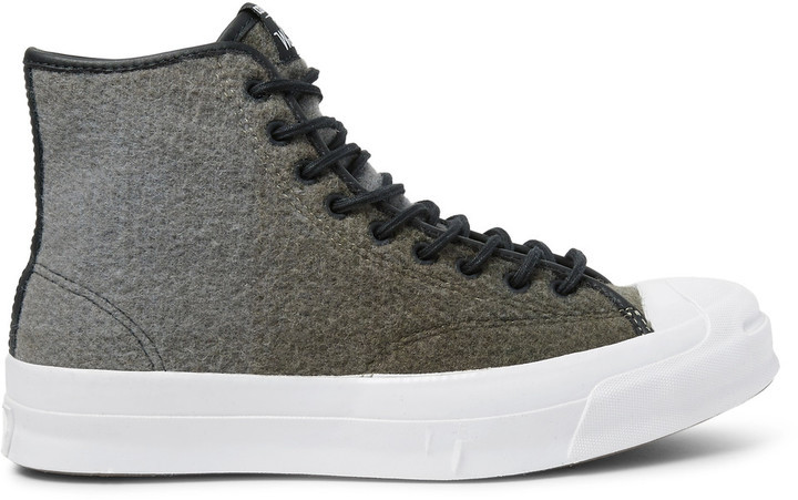 164e1367e833 ... Converse Woolrich Jack Purcell Signature Wool High Top Sneakers ...