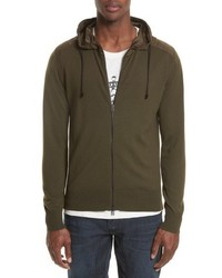 Aldington mixed media full zip hoodie medium 5034288